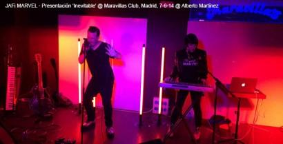 Jafi Marvel – Presentación 'Inevitable' @ Maravillas Club, Madrid, 7-6-14 © Alberto Martínez
