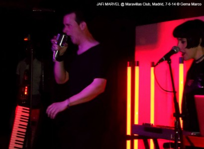 JAFi MARVEL – Presentación «Inevitable» @ Maravillas Club, Madrid, 7-6-14 © Gema Marco