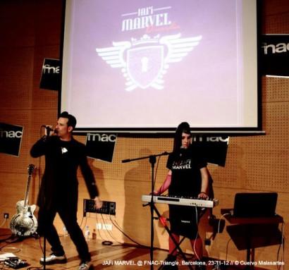 FNAC-Triangle, Barcelona, 23-11-12 © Cuervo Malasartes.
