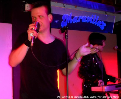 "JAFi MARVEL – Presentación ""Inevitable"" @ Maravillas Club, Madrid, 7-6-14 © Gema Marco"