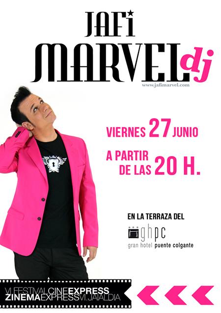 Jafi Marvel DJ en VI Festival Cine Express de Portugalete 27-6-14