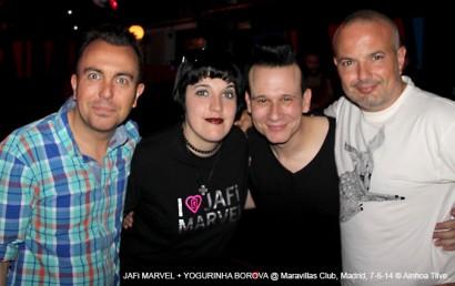 """JAFi MARVEL – Presentación """"Inevitable"""" @ Maravillas Club, Madrid, 7-6-14 © Ainhoa Tilve"""