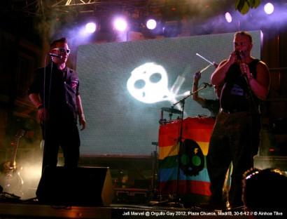 Orgullo Gay MADO 2012 @ Plaza Chueca, Madrid, 30-6-12 © Ainhoa Tilve.