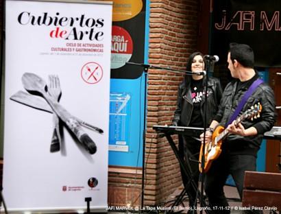 La Tapa Musical @ Zona El Barrio, Logroño, 17-11-12 © Isabel Pérez.