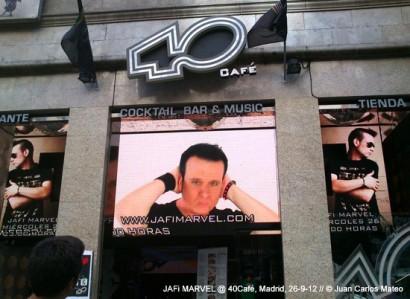 40Café, Madrid, 26-9-12 © Ainhoa Tilve.
