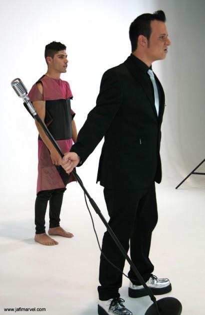 Rodaje videoclip 'Bailar', julio 2012.