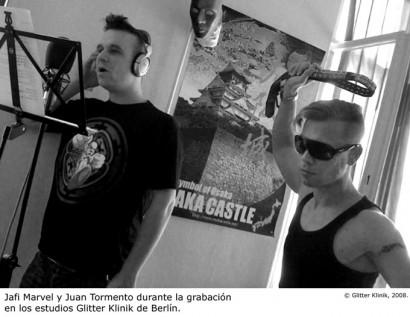 Jafi Marvel y Juan Tormento © Glitter Klinik, 2008.