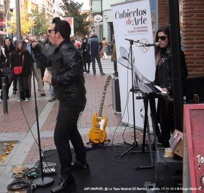 La Tapa Musical @ Zona El Barrio, Logroño, 17-11-12 © Diego Marín.