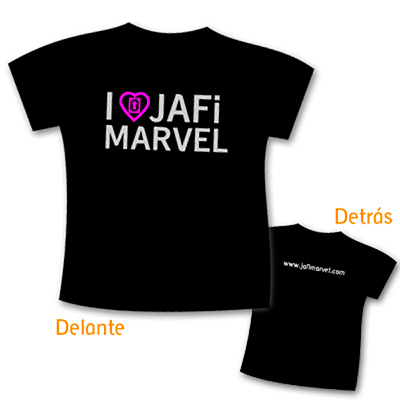Camiseta 'I love Jafi Marvel'