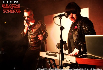 JAFi MARVEL - III Festival Melodías de Sombras @ Maravillas Club, Madrid, 18-10-14 © Gema Marco