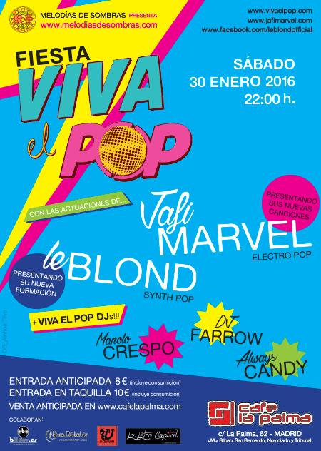 Fiesta Viva El Pop 30-1-16