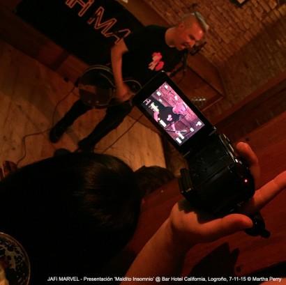 Fiesta presentación 'Maldito Insomnio' @ Hotel California, Logroño, 7-11-15 @ Sergio Conde