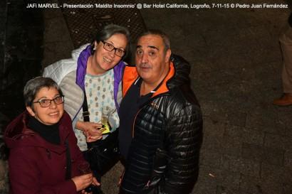 Fiesta presentación 'Maldito Insomnio' @ Hotel California, Logroño, 7-11-15 @ Pedro Juan Fernández