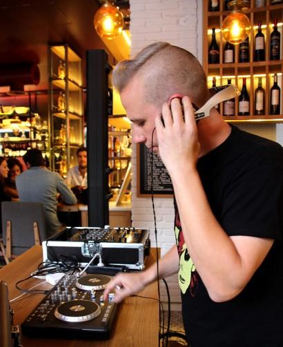 JAFi MARVEL DJ @ Wine Fandango, Logroño, 3-10-15 © Ainhoa Tilve