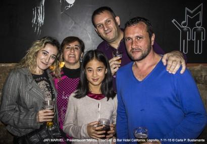 Fiesta presentación 'Maldito Insomnio' @ Hotel California, Logroño, 7-11-15 @ Carla P. Bustamante