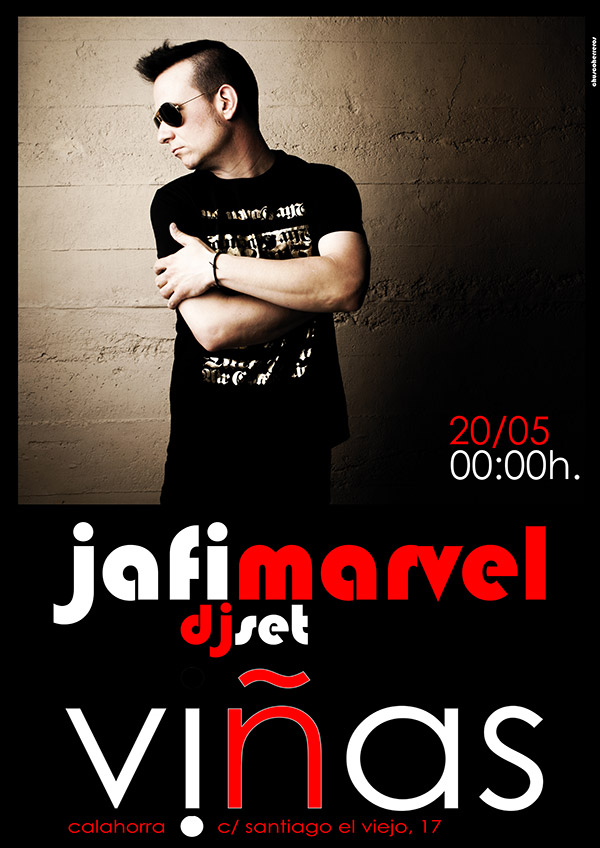 Jafi Marvel en VIÑASbar 20-5-16