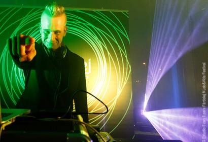 Jafi Marvel DJ en Fiesta Oficial de Presentación de Fárdelej Festival, Auto Oja, Calahorra, 24-6-16 © Estudio 5 con 6.